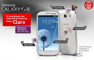 Samsung Galaxy S III en Claro