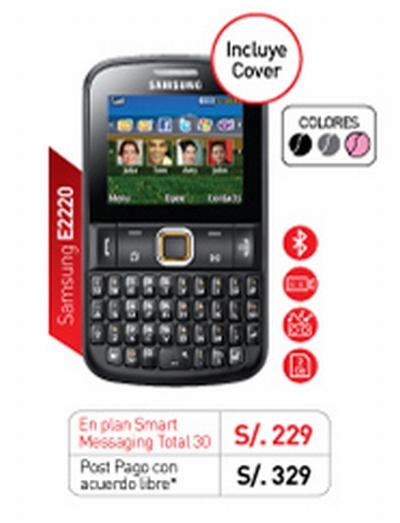Samsung E2220 de Claro