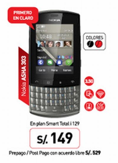nuevo Nokia Asha 303
