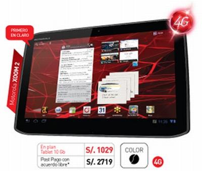 Motorola Xoom2 de claro