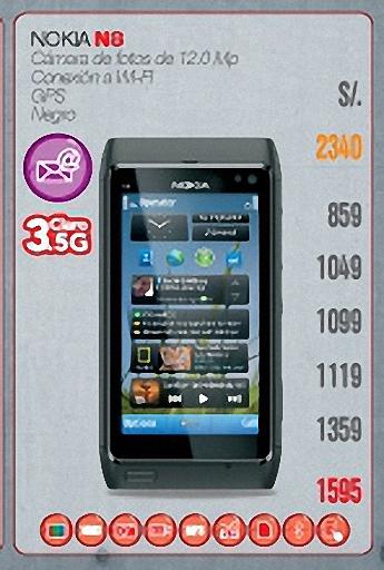 Nokia N8 de claro