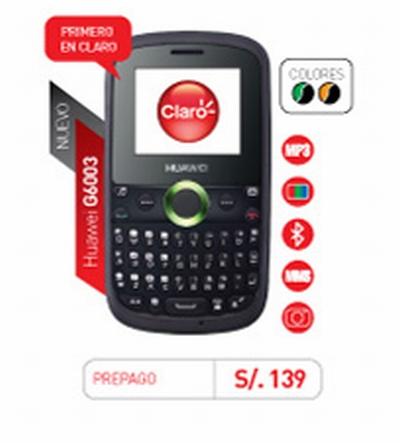 Huawei G6003 de claro