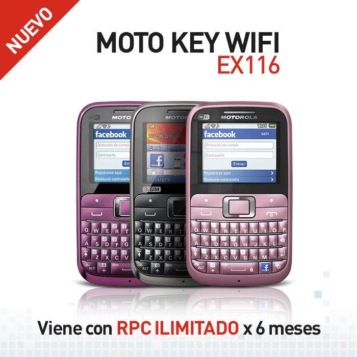 Motorola  EX116 de Claro