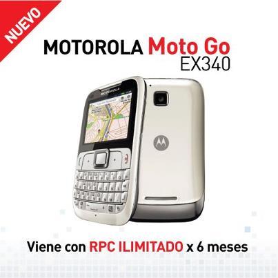 Motorola MotoGo EX340 de Claro