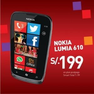 Nokia Lumia 610 de claro