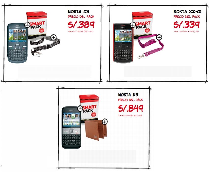 Nuevo Smartpack Nokia de Claro