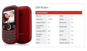 ZTE R236 de Claro