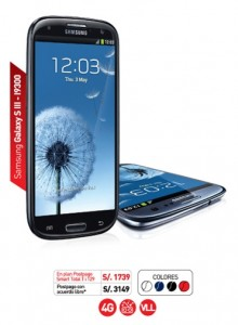 Samsung Galaxy SIII de claro
