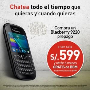 BlackBerry 9220 de Claro a s/.599 soles