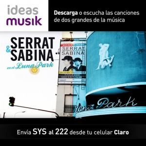 Serrat y Sabina en claro