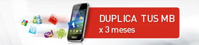 Duplica tus megabytes